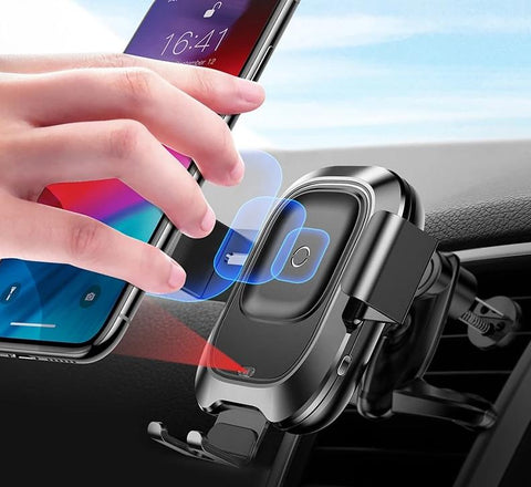 Image of Infrared Qi Wireless Charger For iPhone 11 Pro Max Xiamo mix 3 Car Holder Fast