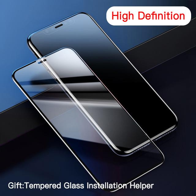 Screen Protector For iPhone 11 Pro Max 2pcs 0.23mm Privacy Protection Full Protective Tempered Glass Film For iPhone