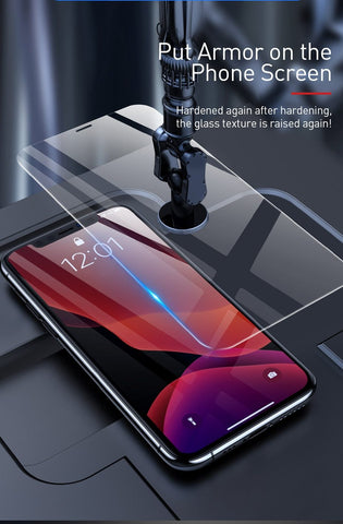 Image of Ultra Thin Screen Protector For iPhone 11 Pro Max 0.15mm Protective Tempered Glass Scratch Proof