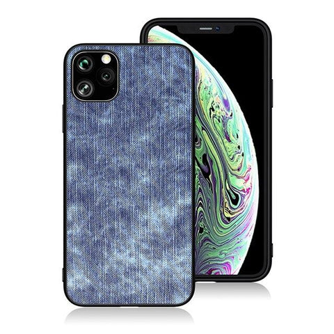 Image of Cowboy Fabric Case for iPhone 11 Pro Max Fashion Back Cover