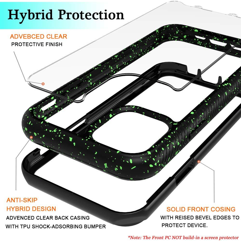 Shock Absorption Armor Hybrid Defender Shockproof Crystal Clear for iPhone 11 Pro Max