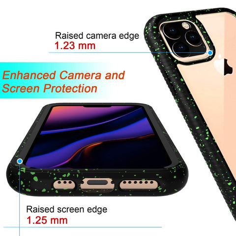 Image of Shock Absorption Armor Hybrid Defender Shockproof Crystal Clear for iPhone 11 Pro Max