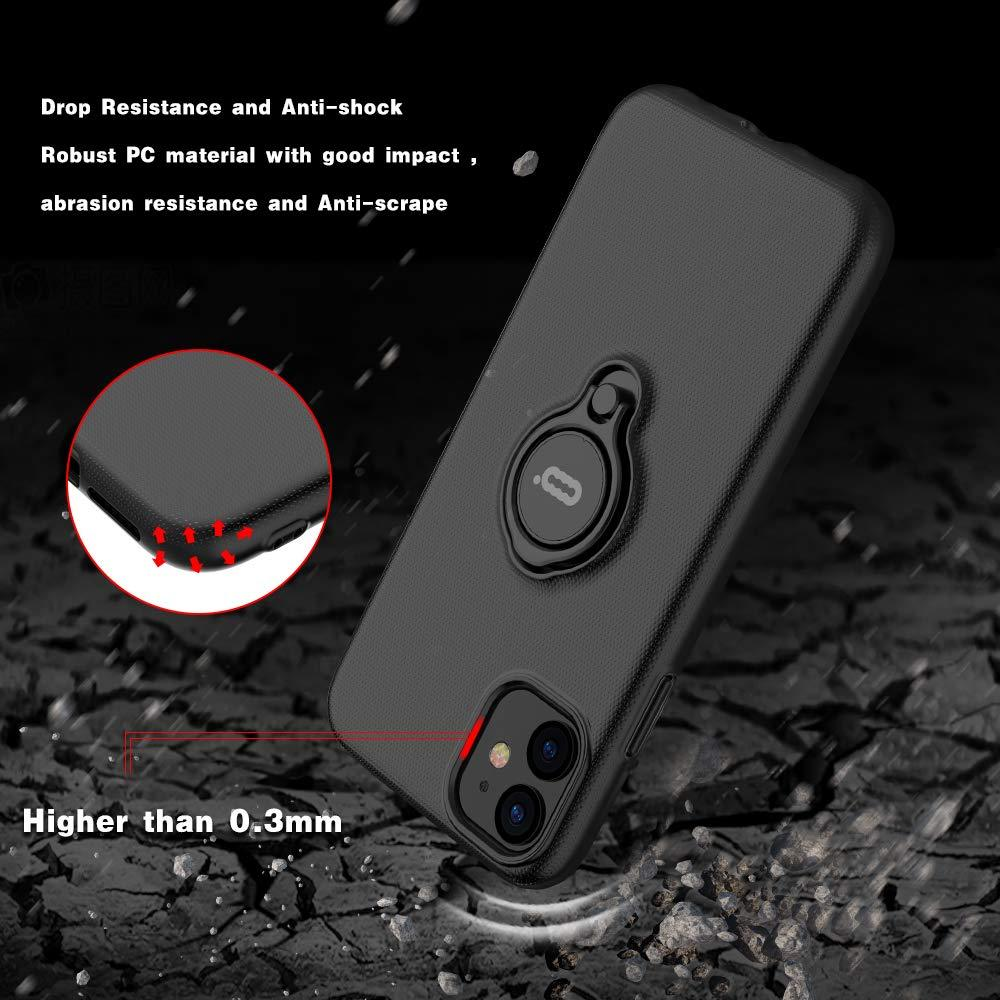 Magnetic Ring Phone Case for iPhone 11 Pro Max X XS XR XS MAX Cover Bracket 360 Rotation Car Magnetic