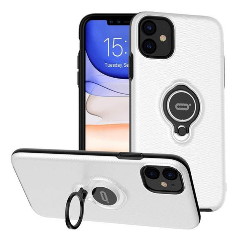 Image of Magnetic Ring Phone Case for iPhone 11 Pro Max X XS XR XS MAX Cover Bracket 360 Rotation Car Magnetic