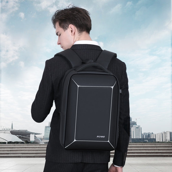 TSA Lock Anti-Theft Men 15.6 Inch Laptop Backpack USB Charging Business Water-Repellent Casual Travel Backpack