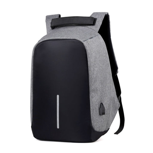 Soft Handle Anti-Theft Leisure Travel Indoor & Outdoor Laptop Backpack with Battery Slot for USB Charging