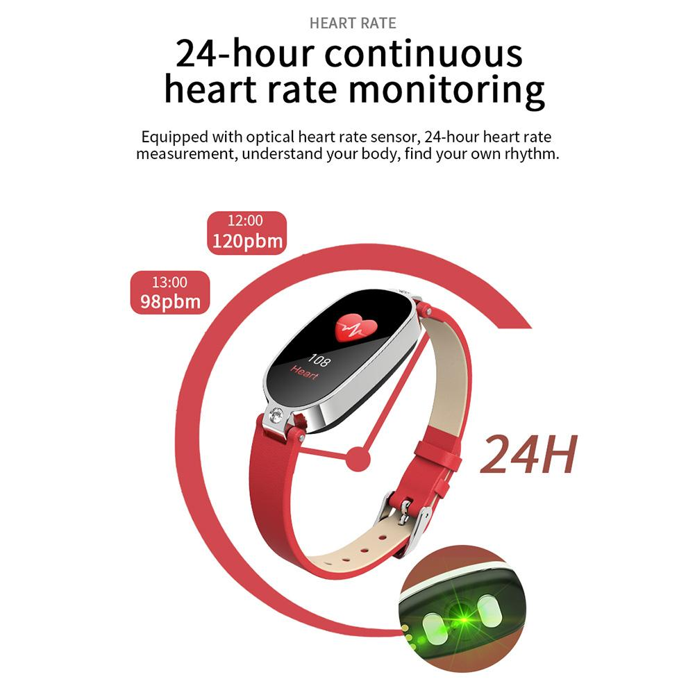 Waterproof Heart Rate Monitor Sport Fitness Tracker Bluetooth Smartwatch For Android iPhones