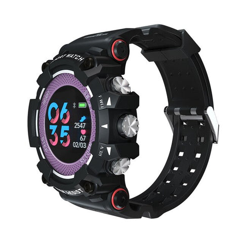 Image of Color Screen Sport Smart Watch 50 ATM Waterproof Men Heart Rate Monitoring Smartwatch For iPhone Android