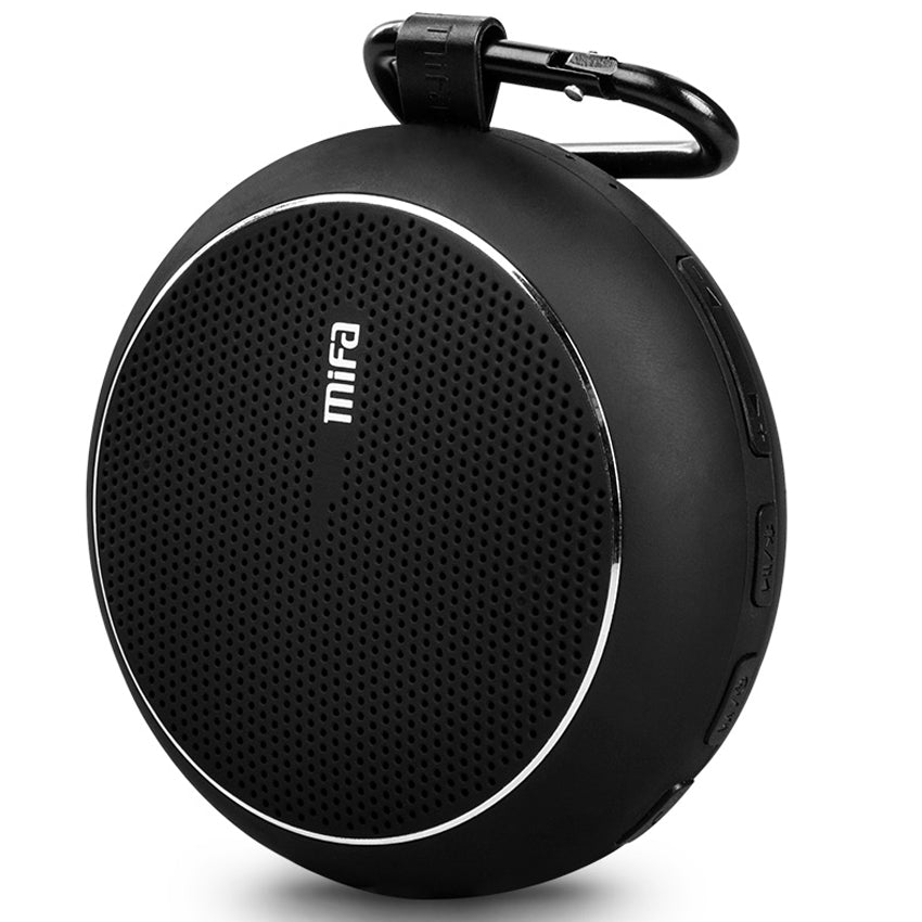 New Outdoor Wireless Bluetooth Stereo Portable Speaker with Built-in Mic - Shock Resistance IPX6 Waterproof Speaker with Bass