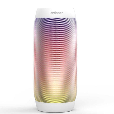 Image of Colorful Waterproof LED Portable Bluetooth Speaker with Flashing Lights