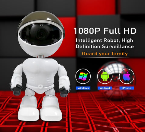 Image of 360° Robot Smart Home Camera