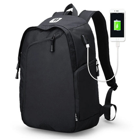 Image of Business Casual Men's 14 Inch Laptop Backpacks for Leisure Travel Daypacking with Battery Slot for USB Charging