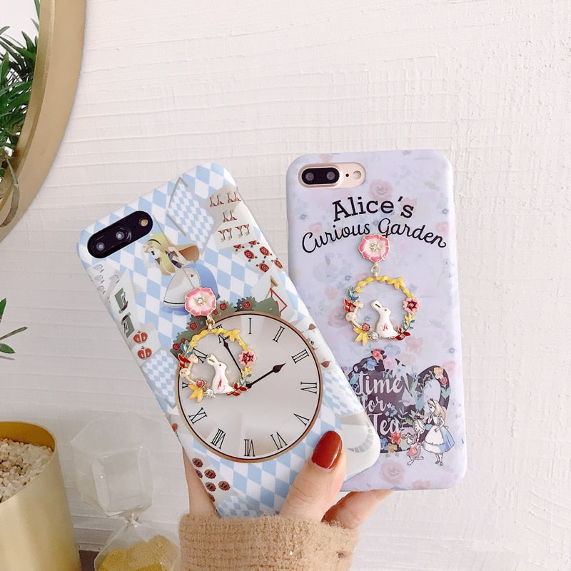 Alice in Wonderland Phone Case for iPhones