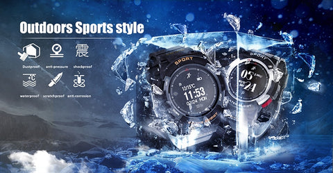 Image of NEW F6 Smartwatch IP68 Waterproof