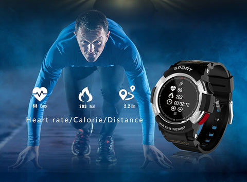 NEW F6 Smartwatch IP68 Waterproof