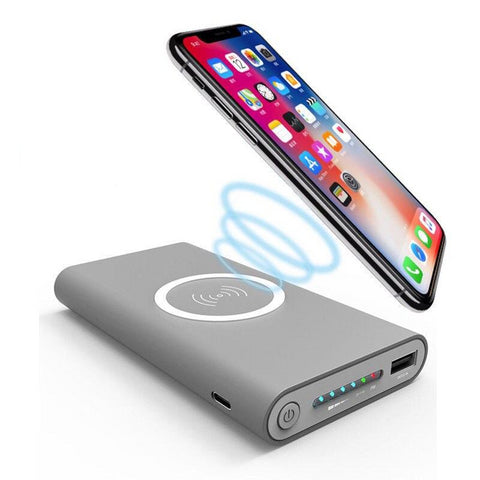 Portable Power Bank Wireless Charging Pad