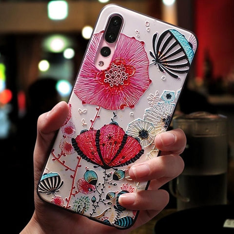 Image of Floral Paris Cake Shop Phone Case For Huawei
