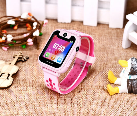 Image of 2019 New Smart watch for Kids SOS Call Location Finder Locator Tracker