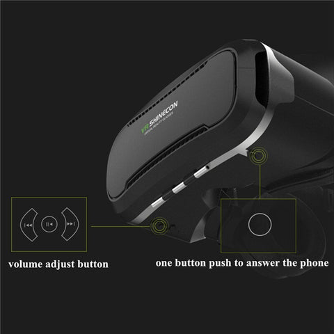 VR Headset Virtual Reality 3D Glasses