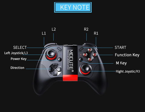 Mocute Wireless Universal Mobile Gamepad