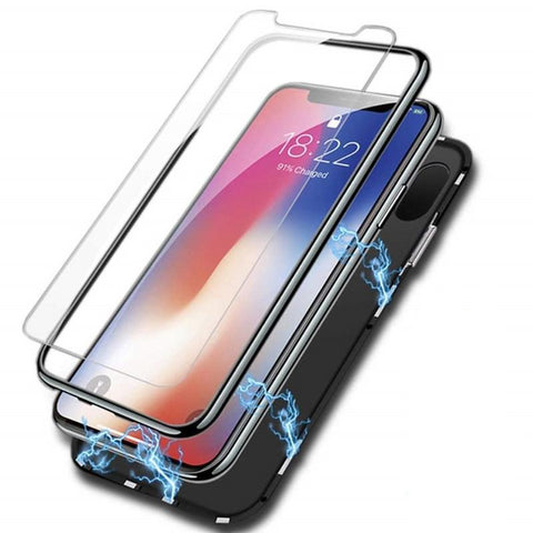 Image of New Luxury Ultra-Thin Metal Case Light Weigh Built-In Soft TPU Phone Case for iPhone 7 8 Plus X XR XS Max