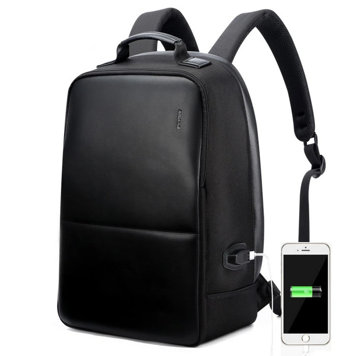 USB External Charge Computer Bag Shoulders Anti-theft Backpack 15 inch Waterproof Laptop Backpack for Men