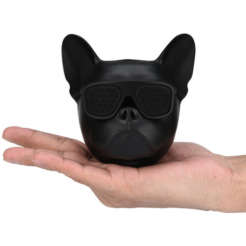 Bluetooth Bulldog Head Speaker