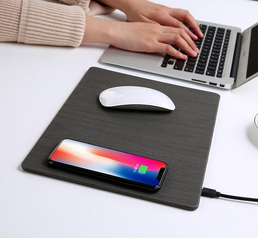 Mobile Phone Qi Wireless Charging Mouse Pad