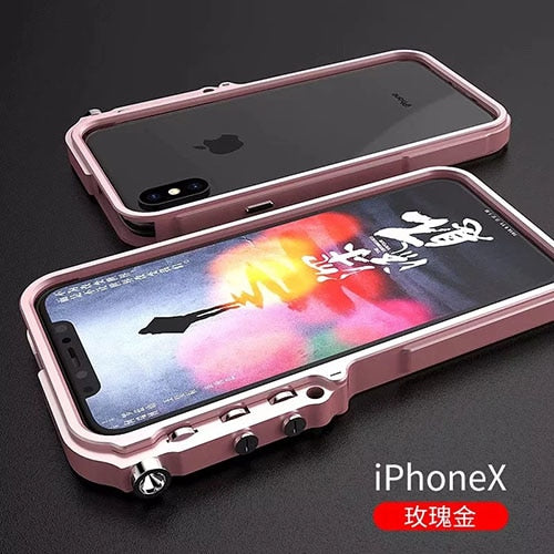 Trigger Metal Bumper Case for iPhones