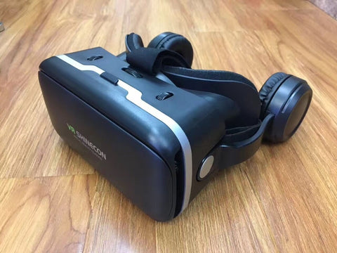 VR Virtual Reality Glasses 3D Goggles Headset Helmet