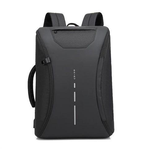 Image of Smart Multifunctional Laptop Computer Backpack Casual Business Travel Bag with External USB Charger for Mobile Phones