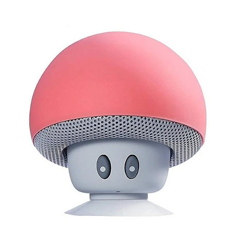 Image of Mini Mushroom Shaped Bluetooth Speaker With Super Bass