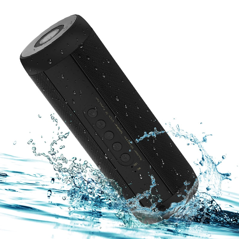 Waterproof Outdoor HIFI Column Wireless Bluetooth Speaker