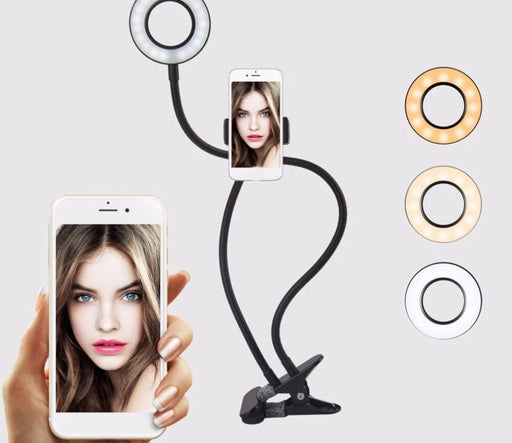Flexible Selfie Phone Ring Light