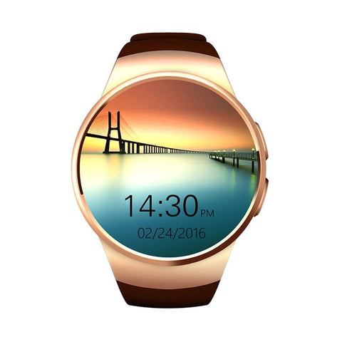 Image of Waterproof Bluetooth Heart Rate Monitor Smartwatch