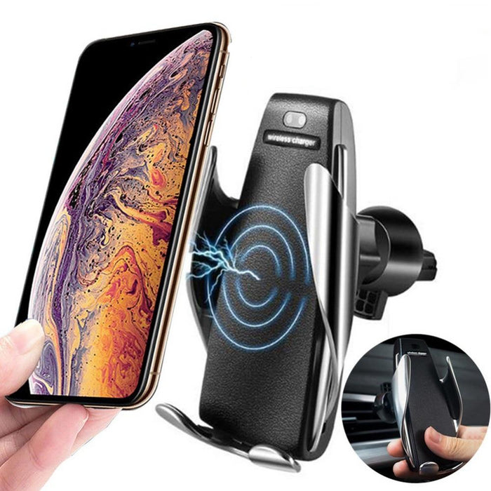 Automatic Clamping Car Qi Wireless Charger