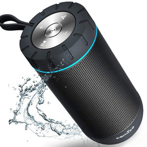 Waterproof Wireless Portable Outdoor Superior Sound Dual Drivers Bluetooth Speaker