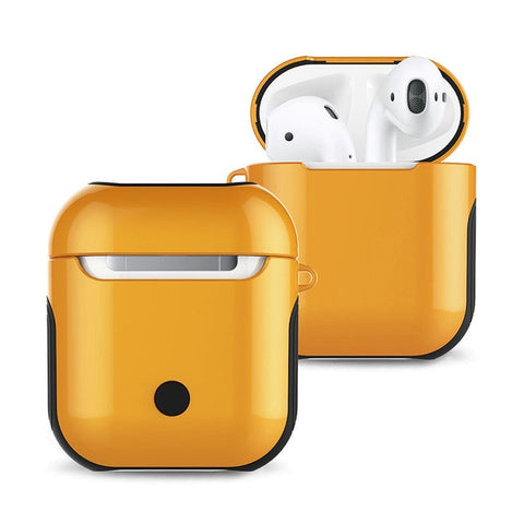 Airpods 2st Generation Glossy Case For Bluetooth Wireless Earphones