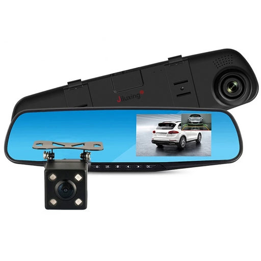Car Dash Camera - 1080P Dual Lens Dash Cam With Rear Camera