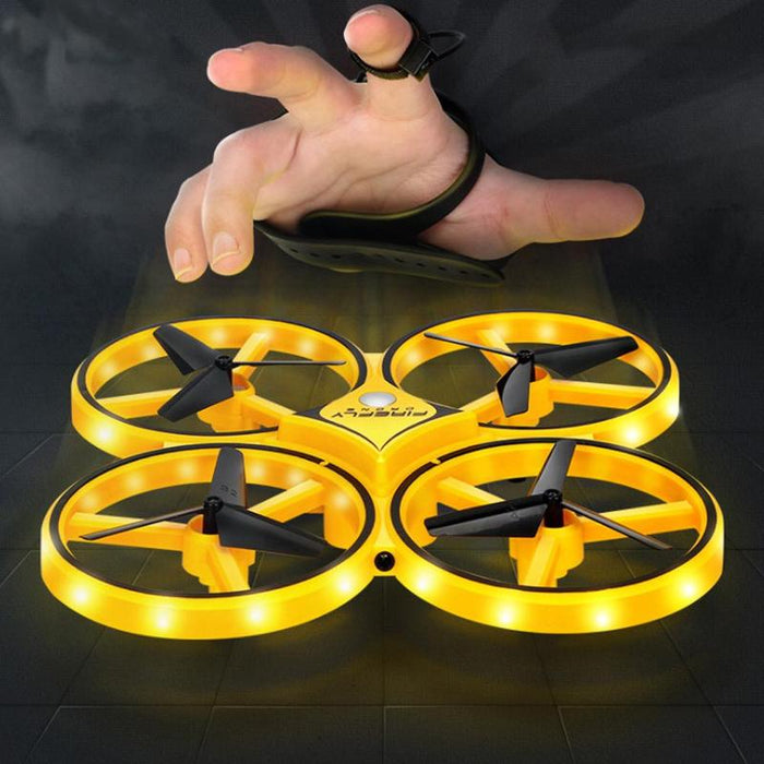Gravity Sensor RC Quadcopter With Infrared Obstacle Avoidance