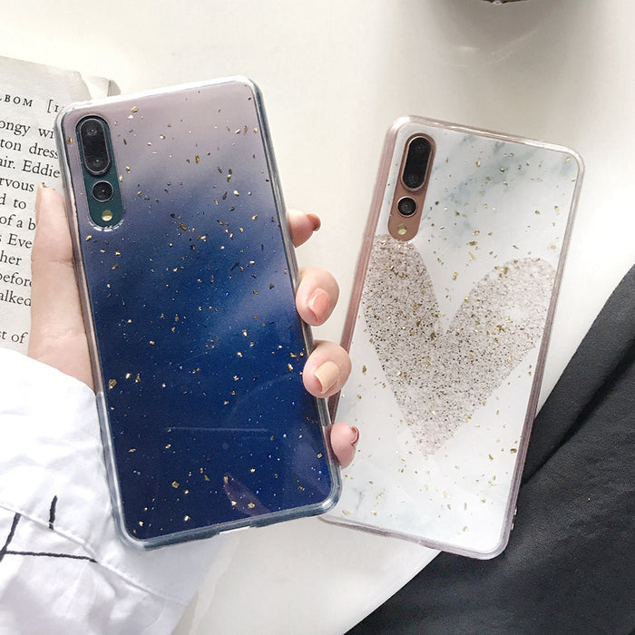 Splice Marble Phone Case For Huawei