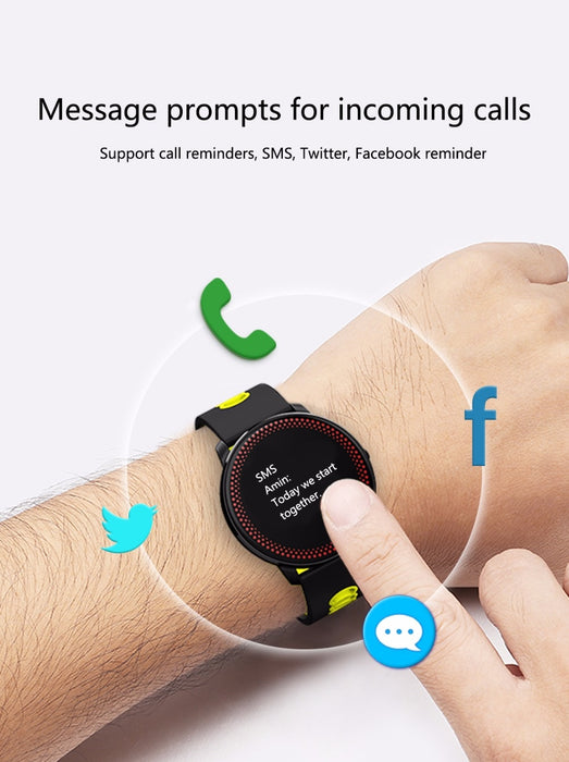 Smart Bracelet Tracker and Heart Rate Blood Pressure Monitor