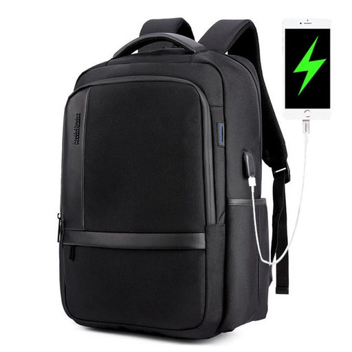 Urban Traveler's External USB Charge 15.6 inch Notebook Laptop Unisex City Backpack