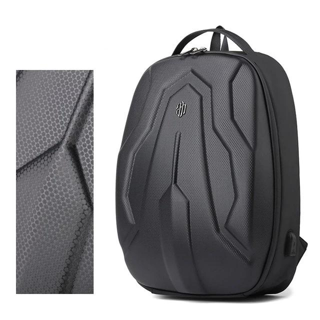 15.6 Inch Hard Shell Laptop Multi-Functional Travel Outdoor Anti-Theft USB Port Backpack