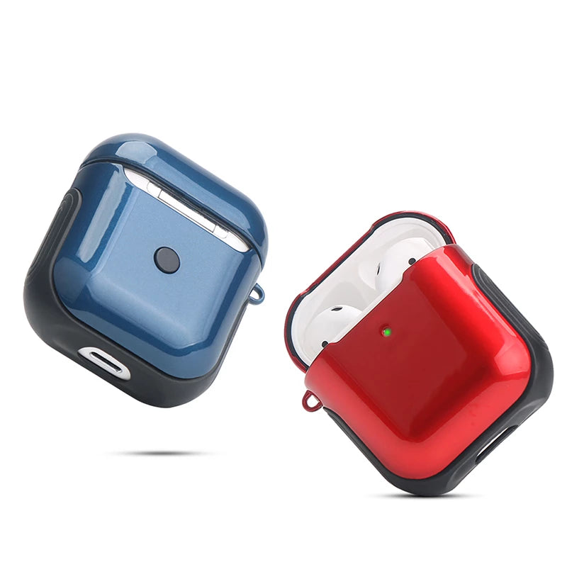 Airpods 2nd Generation Glossy Case For Bluetooth Wireless Earphones