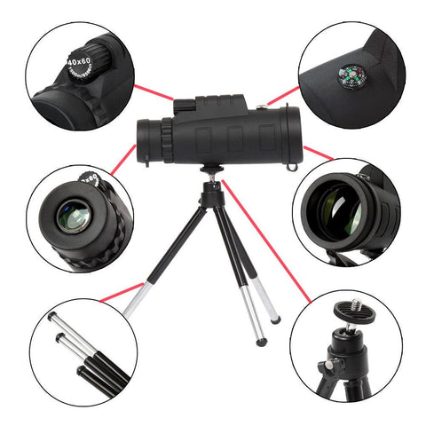 ThinkZoom™ 40x Zoom Telephoto HD Camera Lens for iPhone, Samsung and Android Smartphones