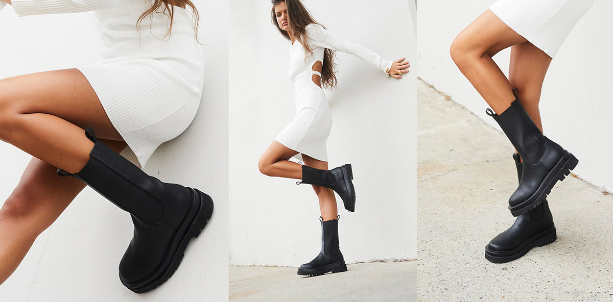 CURRENTLY TRENDING: COMBAT BOOTS