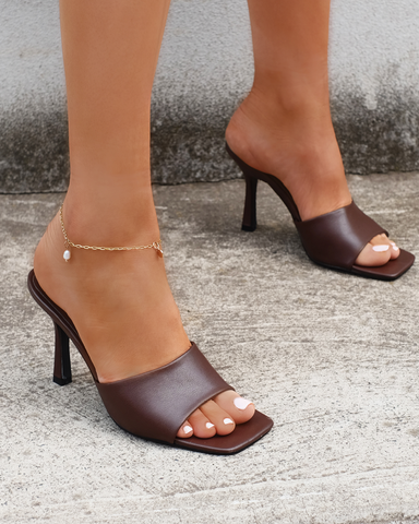 BILLINI | STORMI - CHOCOLATE | 89.95 |Heels