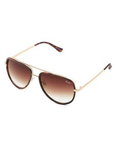 BILLINI | ALL IN MINI SUNGLASSES - TORT/BROWN FADE LENS |  |SUNGLASSES