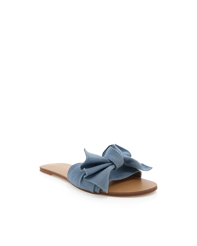 ALPHA - BLUE DENIM-Sandals-Billini-Billini